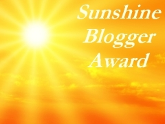Home Is A Kitchen – Sunshine Blogger Award – 1